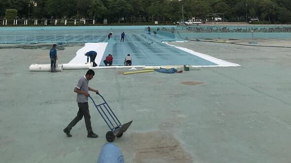 Gençlik Parkı'nın havuzu temmuzda dolacak