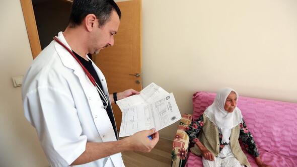 Evde sağlık hizmeti yeniden başladı