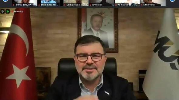 MÜSİAD İzmir Şubesi İslam Hukuku Profesörü Hayrettin Karamanı ağırladı