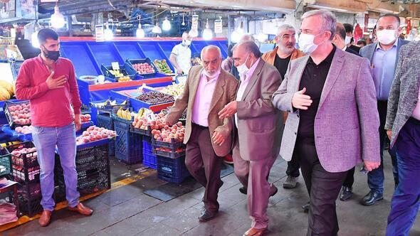 Mansur Yavaş'tan esnaf ziyareti