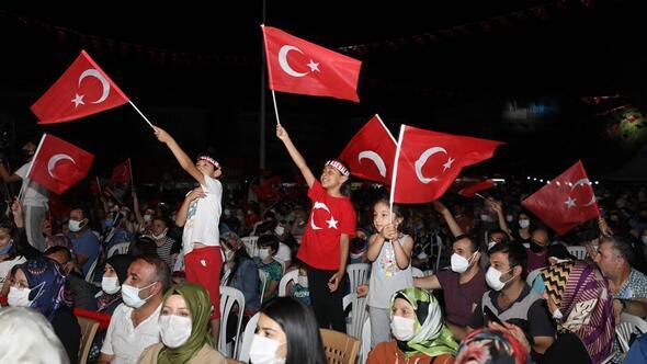 Sincanlılar 'Türkiye Geçilmez' diye haykırdı