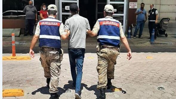 Kiliste kablo hırsızı tutuklandı