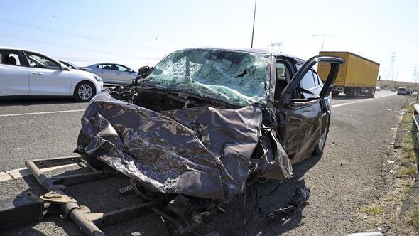 Zincirleme kazada 17 kişi yaralandı