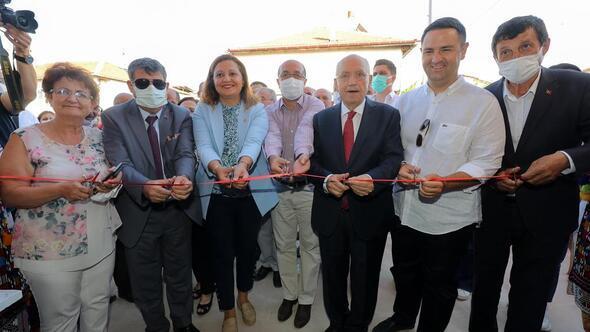 Kültür evi törenle açıldı