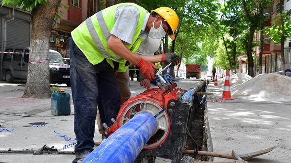 Asbestli borular yıl sonuna kadar değişecek