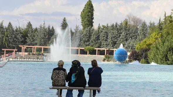 Dikmen Vadisi'ndeki havuzlar yıllar sonra faaliyette