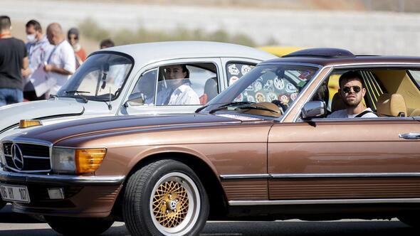 Klasik araba aşkı Ankara'da