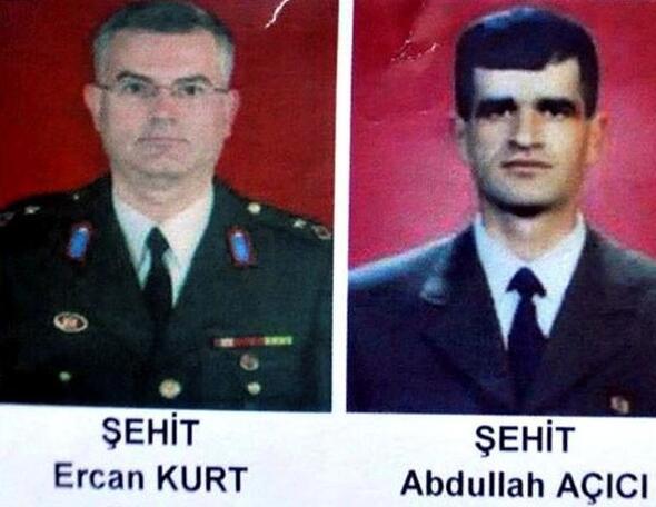 Binbaşı Ercan Kurt'un katili Amanoslar'da öldürüldü