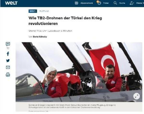 Almanyadan Türk SİHAlarına büyük övgü