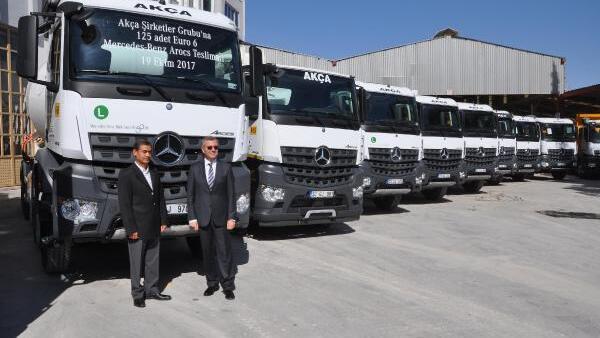 Tek kamyonla işe başladı, 535 kamyonluk filoya ...
