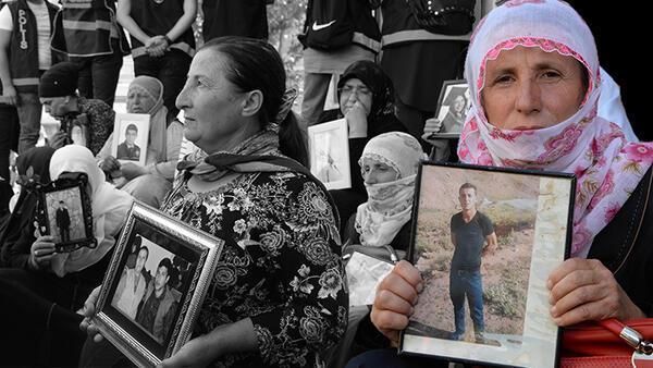HDP önündeki eylemde 16'ncı gün; aile sayısı 40 oldu - Son Dakika Haber