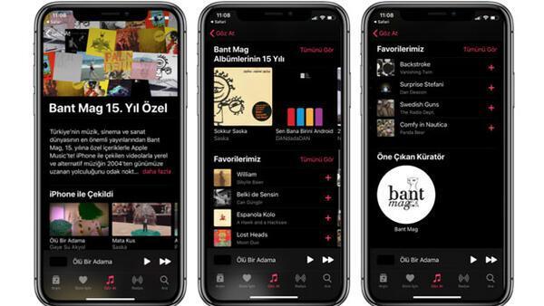 Türkiye'den 15 ismin iPhone ile çektiği 15 müzik videosu yayında