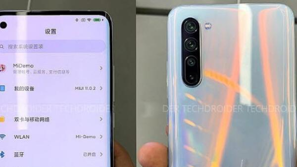 Xiaomi Mi 10 ortaya çıktı, ilk kez görüntülendi