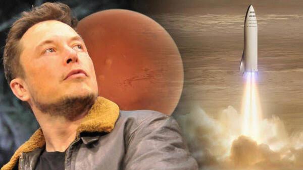 Elon Musk'ın hedefi 1 milyon insanı Mars'a yollamak