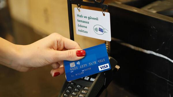 Visa, o mağazalarda temassız ödeme noktalarını devreye aldı