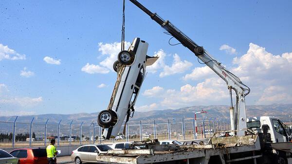 Kahramanmaraş'ta 2 kaza: 4 kişi yaralı