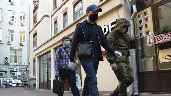 Rusya'da Covid-19 vakaları tırmanıyor