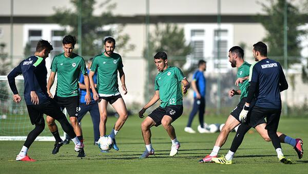 İttifak Holding Konyaspor'da Medipol Başakşehir maçı hazırlıkları