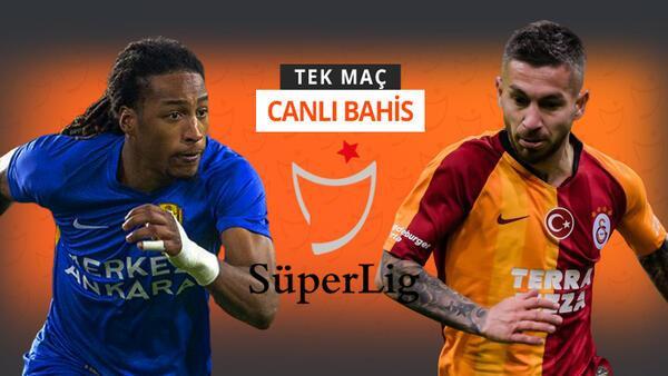 Galatasaray, Ankaragücü deplasmanına 6 eksikle gitti! Galibiyetlerine iddaa'da...