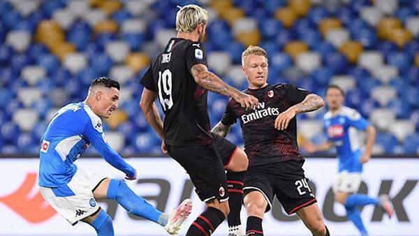 Napoli 2-2 Milan
