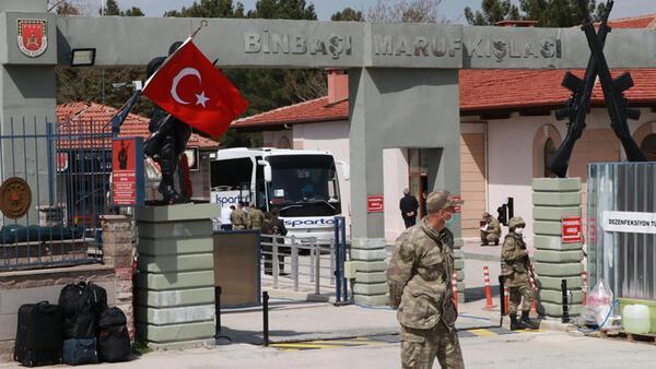 Burdur'da koronavirüs paniği! 221 asker karantinada...