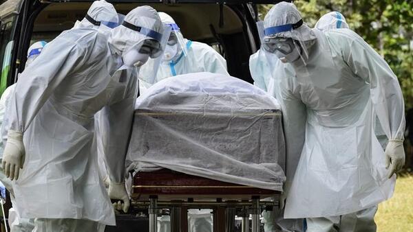ABD'de son 24 saatte koronavirüs (Covid-19) yüzünden 379 kişi hayatını kaybetti