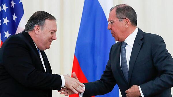 Rusya Dışişleri Bakanı Lavrov ile ABD'li mevkidaşı Pompeo arasında kritik görüşme