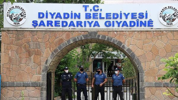 PKK soruşturmasında başkan gözaltına alınmıştı! Diyadin Belediyesine görevlendirme