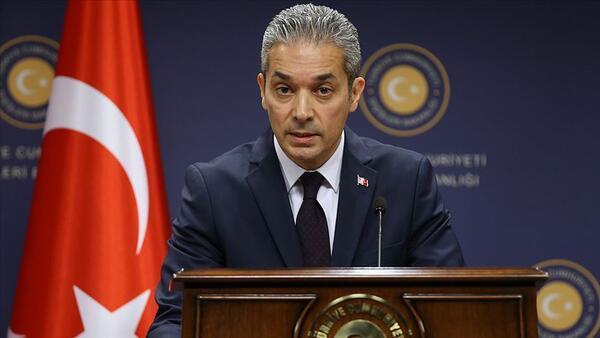Dışişleri Bakanlığı Sözcüsü Hami Aksoy'dan AB Yüksek Temsilcisi Borrell'in açıklamalarına tepki: