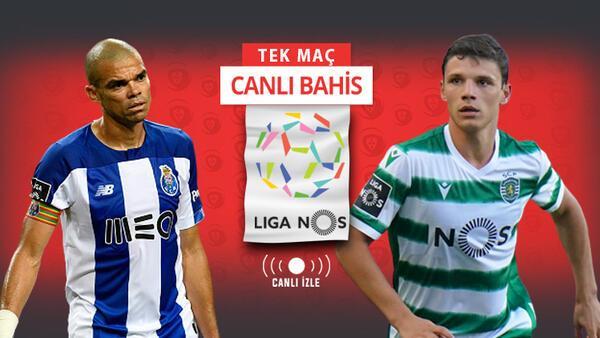"""Dragonlar mı, Aslanlar mı? """"Porto vs Sporting"""" rekabetinde iddaa'nın favorisi..."""