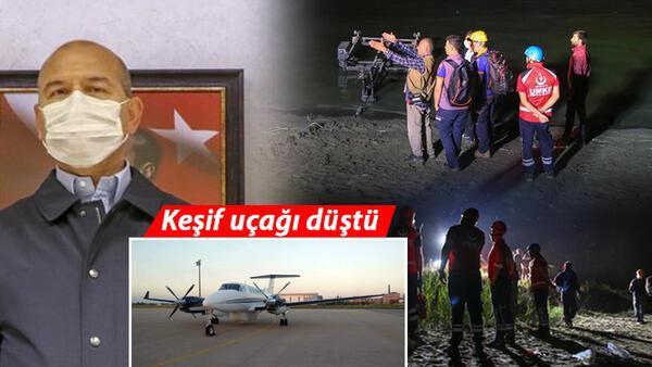 Son dakika haberler: Van'da keşif uçağı düştü...Bakan Soylu acı haberi duyurdu: 7 kahraman şehit
