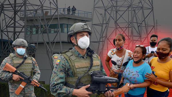 Ekvador'da kanlı isyan! En az 50 mahkum yaşamını yitirdi