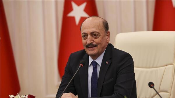 Çalışma ve Sosyal Güvenlik Bakanı Bilgin, Türkiye Kamu-Sen'i ziyaret etti