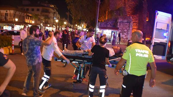 Aydın'da silahlı kavga: 5 yaralı, 2 gözaltı