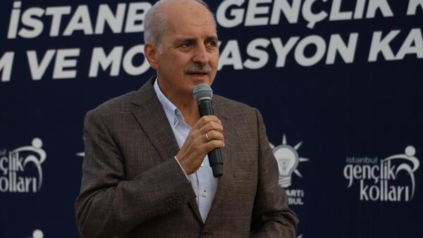 AK Parti Genel Başkanvekili Numan Kurtulmuş: Mazlumların gözü büyük ve güçlü bir Türkiye üzerindedir