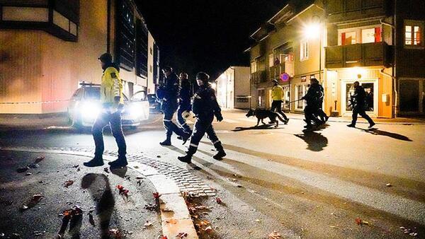 Son dakika: Norveç'te oklu saldırgan dehşeti