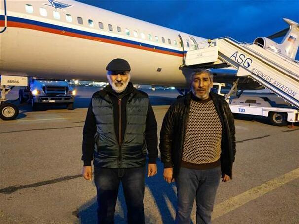 6 yıldır esir tutulan iki Azerbaycan vatandaşı serbest bırakıldı