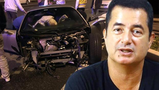 Ferrari'sini parçalayan televizyoncu Acun Ilıcalı