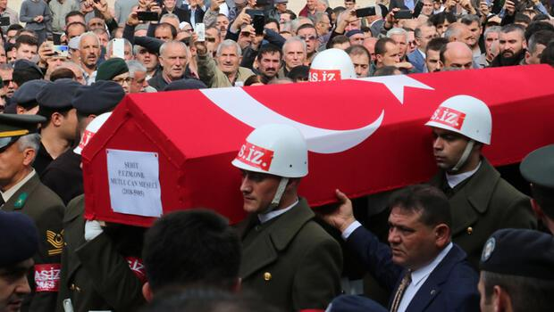 Şehit Piyade Uzman Onbaşı Meşeci, gözyaşlarıyla uğurlandı