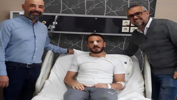 Ali Çamdalı üçüncü kez burun ameliyatı oldu