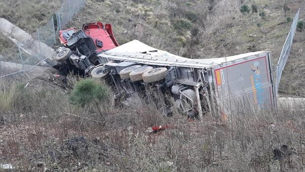 Son dakika haberi: Kuzey Marmara Otoyolu'nda kaza