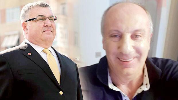Mehmet Siyam Kesimoğlu Muharrem İnce'ye...