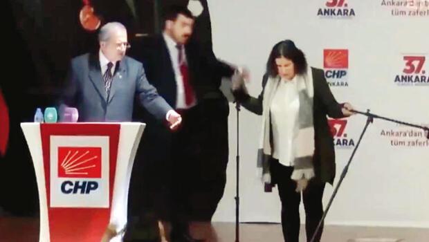 Kadınlara hakarete tepki Ankara'da...