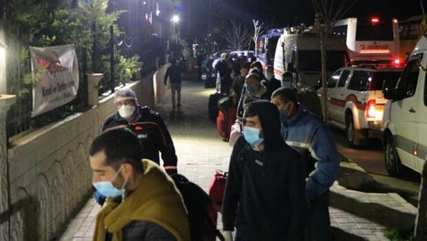 Irak'tan getirilen 511 Türk, Afyonkarahisar'da karantinaya alındı