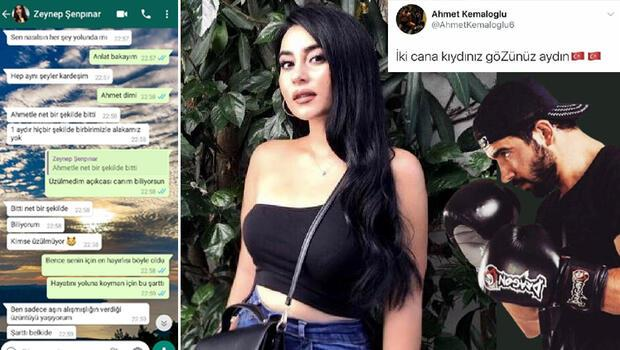 Milli boksör Selim Ahmet Kemaloğlu sevgilisini öldürmüştü... Mesajlar ortaya çıktı