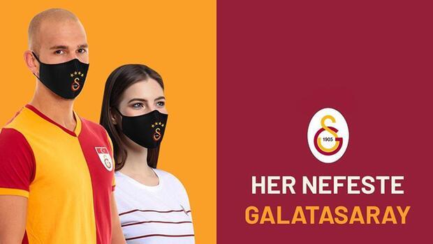 Galatasaray'dan logolu maske satışı!