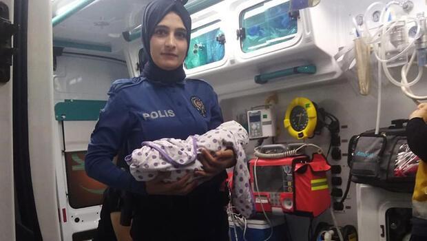Cami avlusuna bırakılmış 10 günlük bebek bulundu