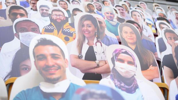 Galatasaray'dan sağlık çalışanlarına jest!