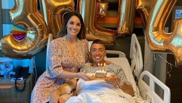 Fernando Muslera'nın doğum günü hastanede kutlandı