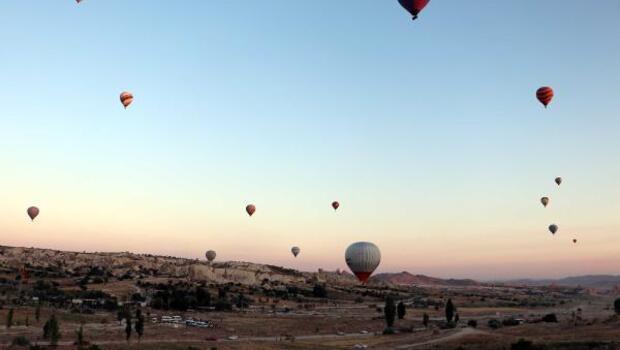 Sıcak hava balonu uçuşları 159 gün sonra yeniden başladı